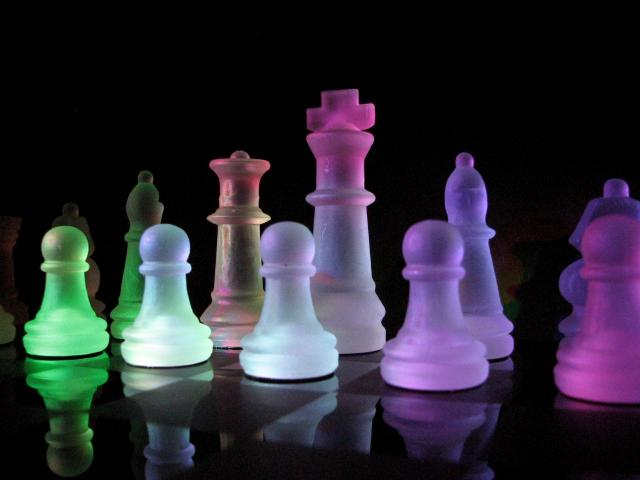 échecs de couleurs