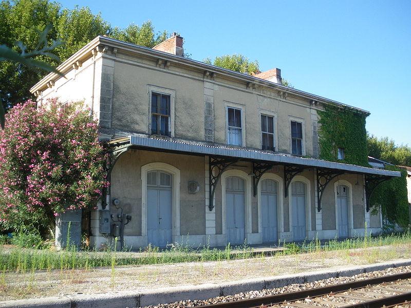 Gare de Monteux