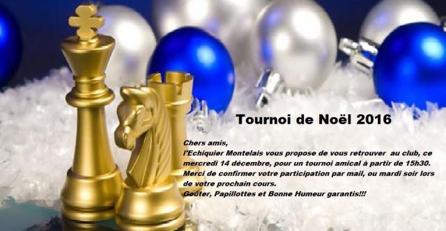 Tournoi noel